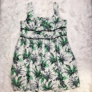 Plus size eShakti 4X floral dress